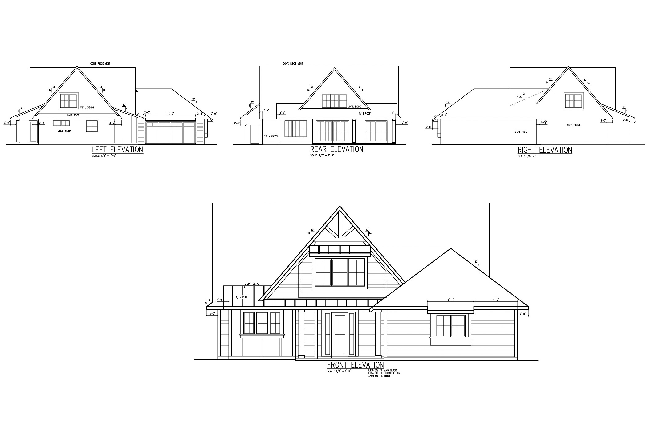 Home Plan Front