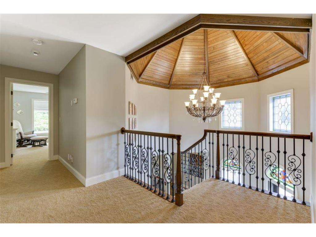 Wood Domed Foyer