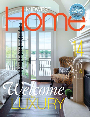 TJB Homes Featured in MIDWEST Homes Magazine