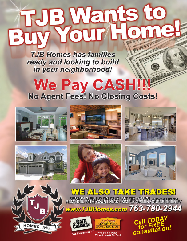 TJB Homes Will Buy Your Home/Lot/Rental for Cash