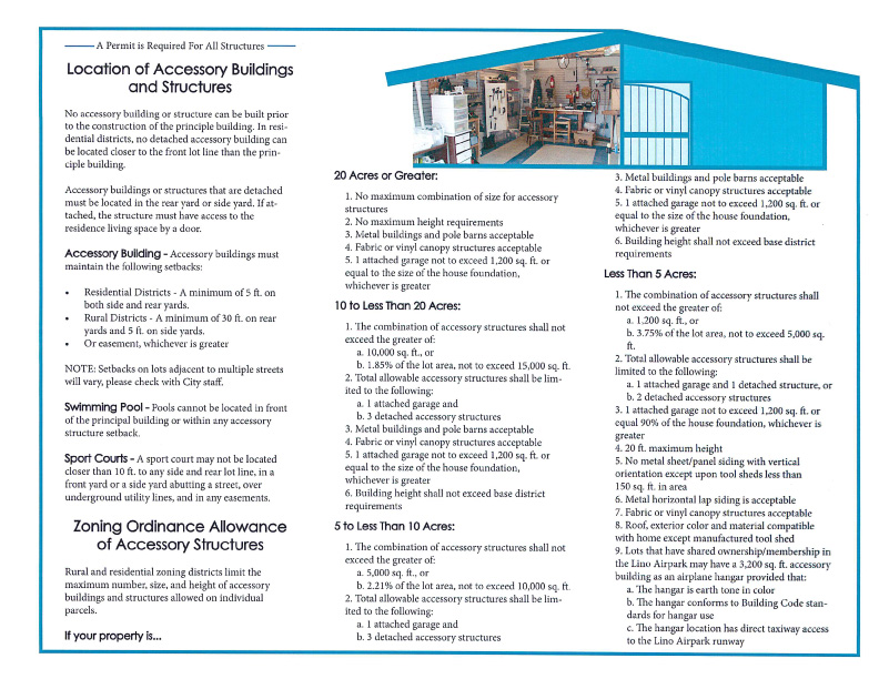 Lino Lakes Accessory Building Code