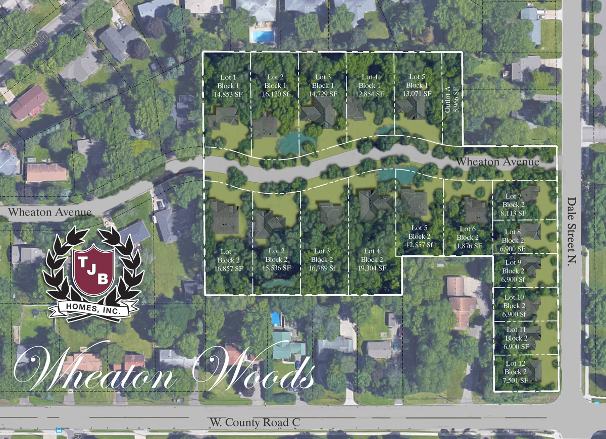 Wheaton Woods - Wooded Lots in Roseville