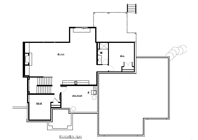 TJB Marrissa Plan #196 Lower Level Full Floor Plan
