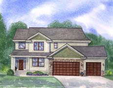 Mary Home Plan #207134