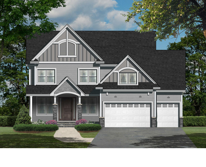 McKenzie Plan #271 Home Front Color