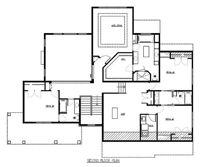 Two Story Luxury Home Plan | Two Story Great Room Floor Plans ...