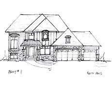 North Oaks Home Plan #210
