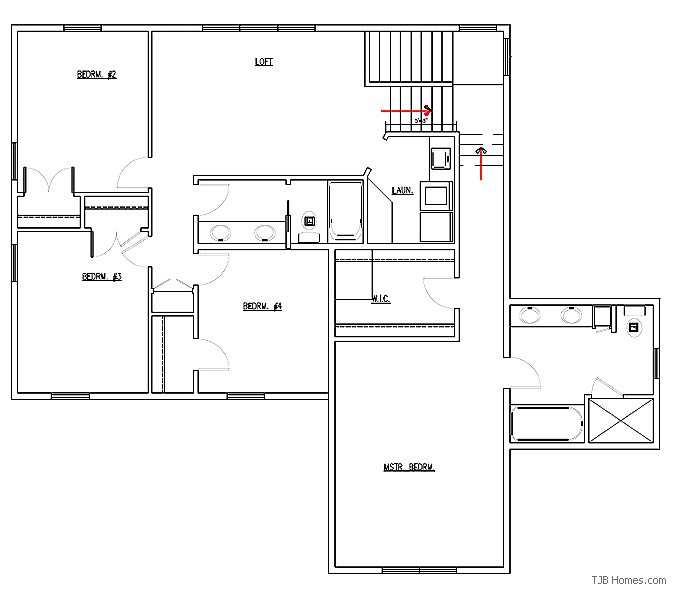Two story floor plans 2 400 3 000 sq ft maddy plan 2400 sq ft house plans