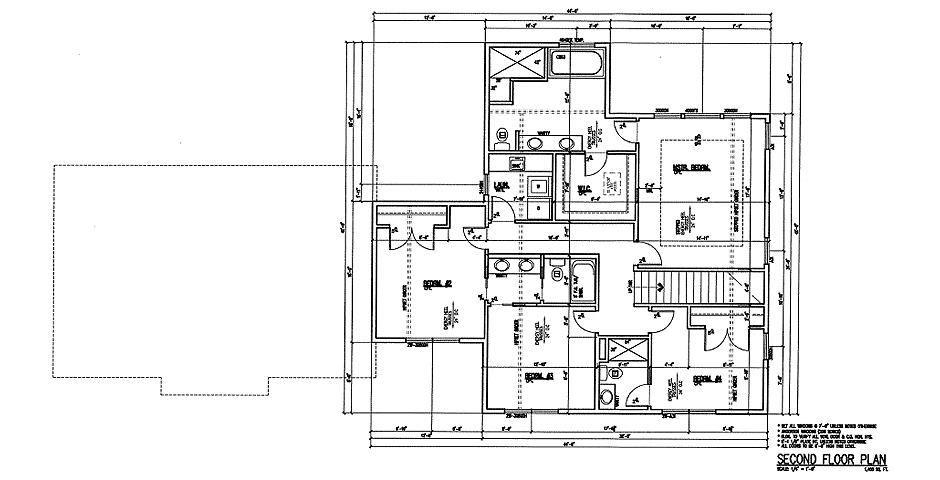 Home Plan Upper Floor Plan