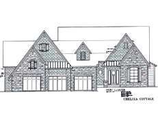 TJB #457 (Chelsea Cottage) Home Plan