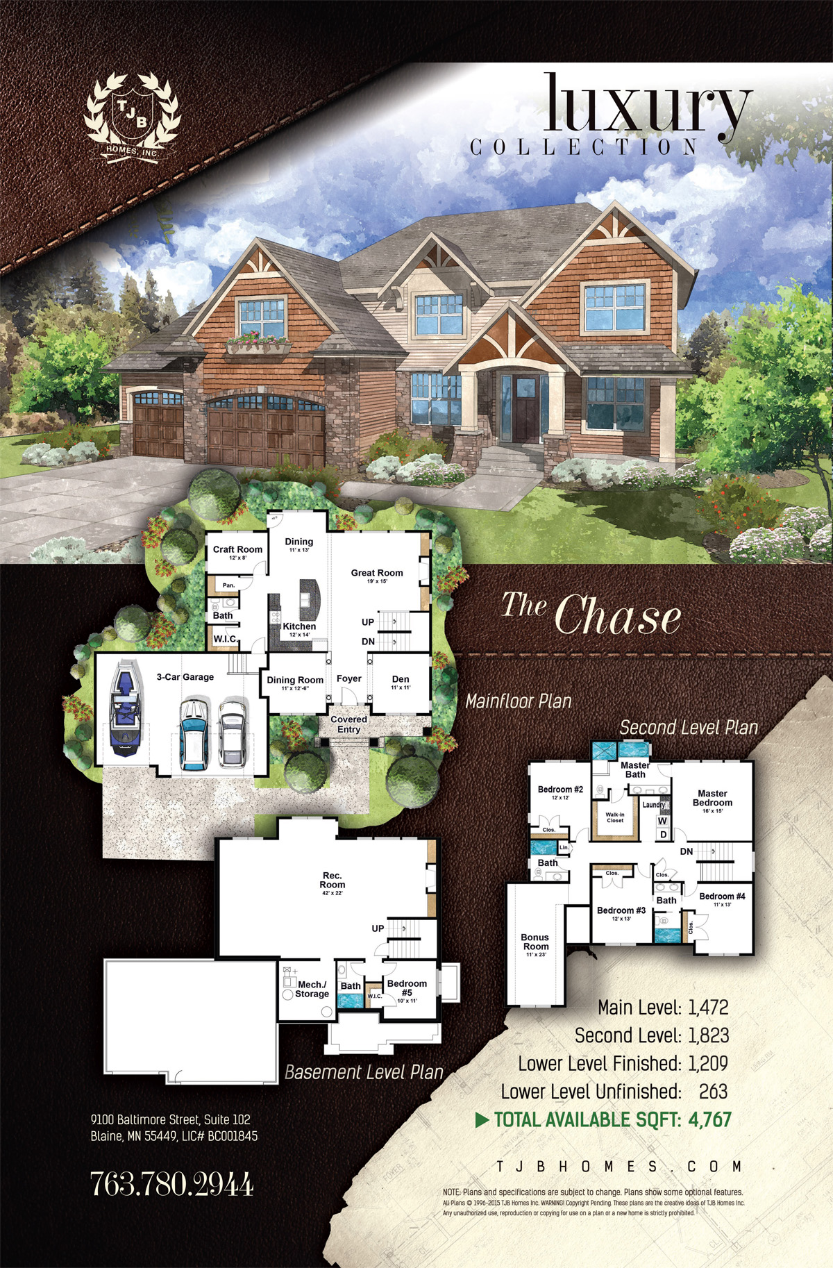 The Chase Home Plan