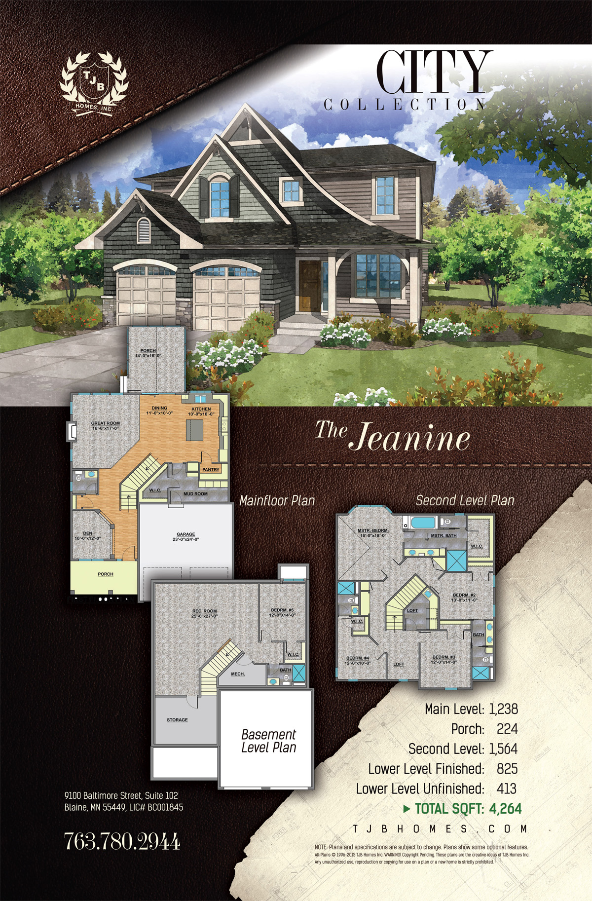 City Collection Home Plans - The Jeanine