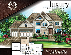 Two Story Luxury Home Plans