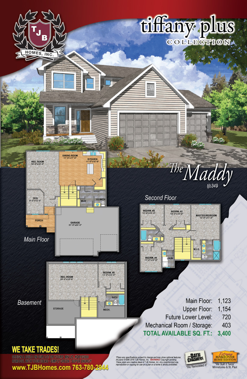 Tiffany Collection Home Plans - The Maddy