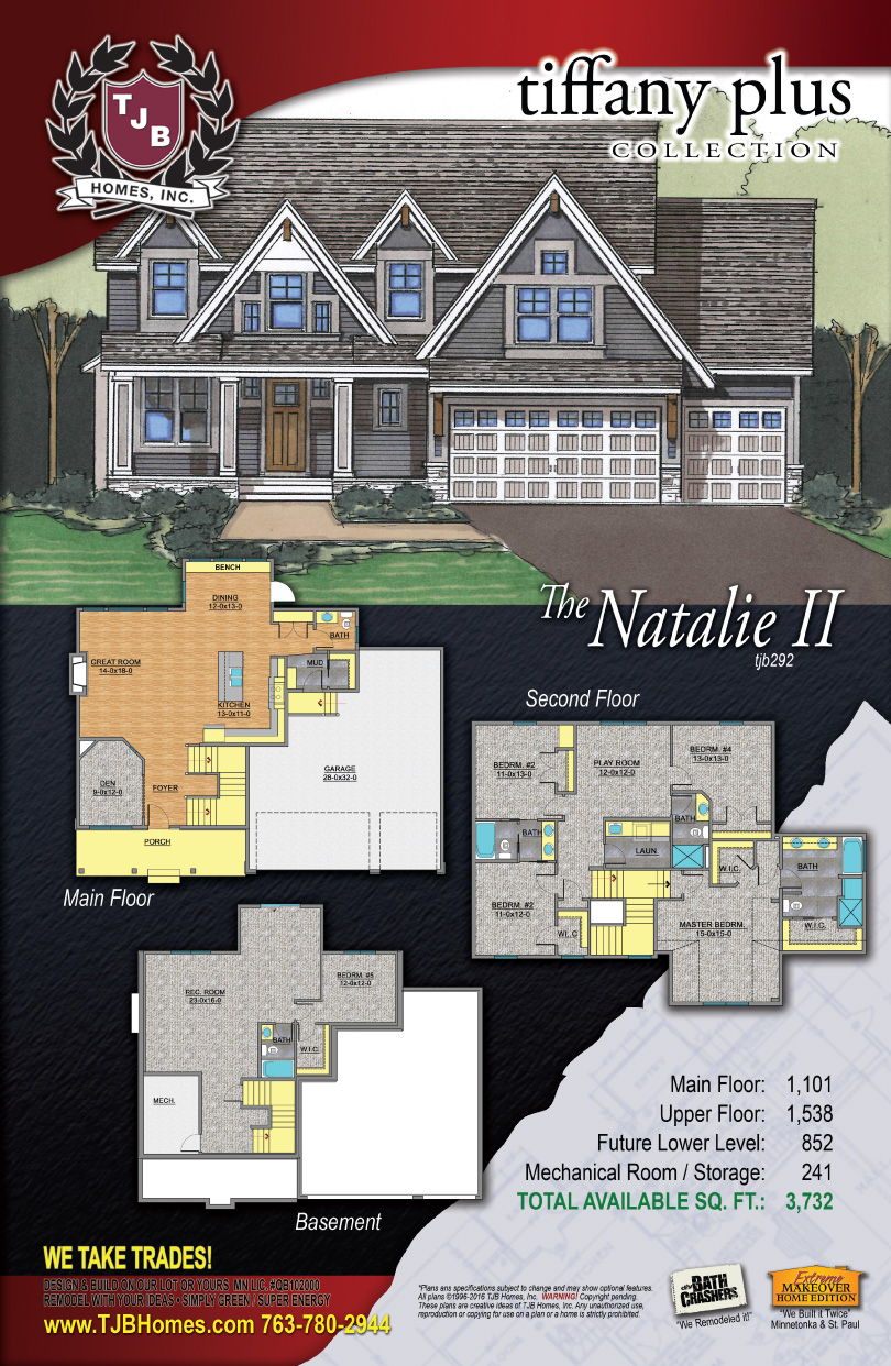 Tiffany Collection Home Plans - The Natalie II