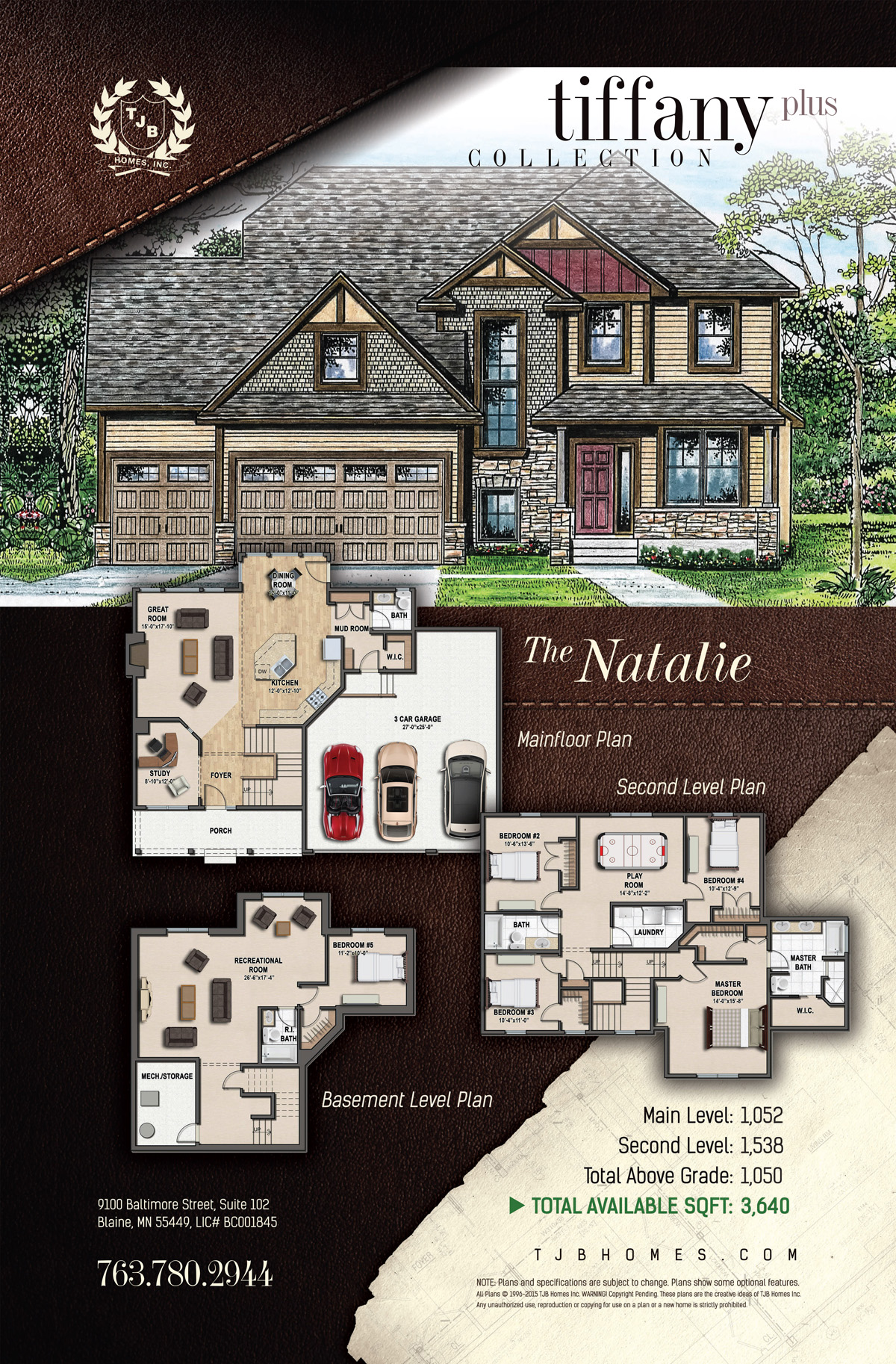 Tiffany Plus Collection Home Plans - The Natalie