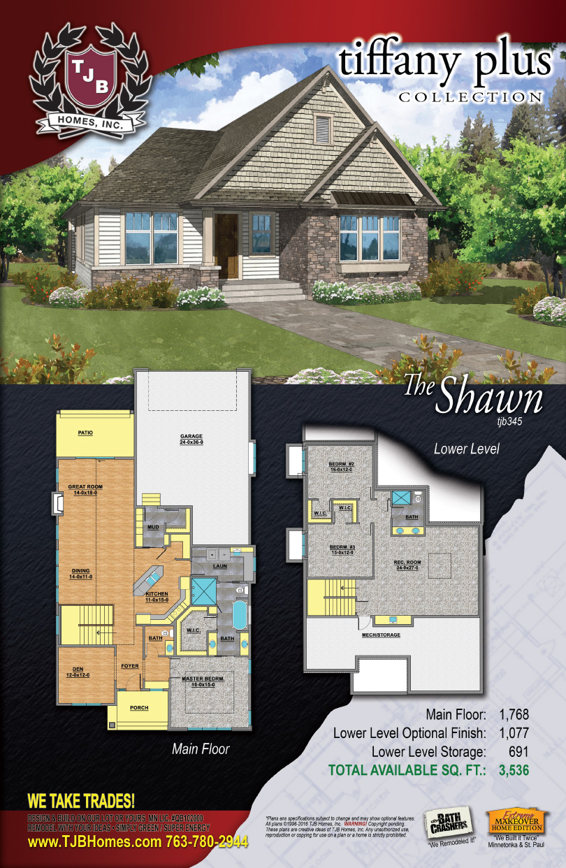 Tiffany Collection Home Plans - The Shawn