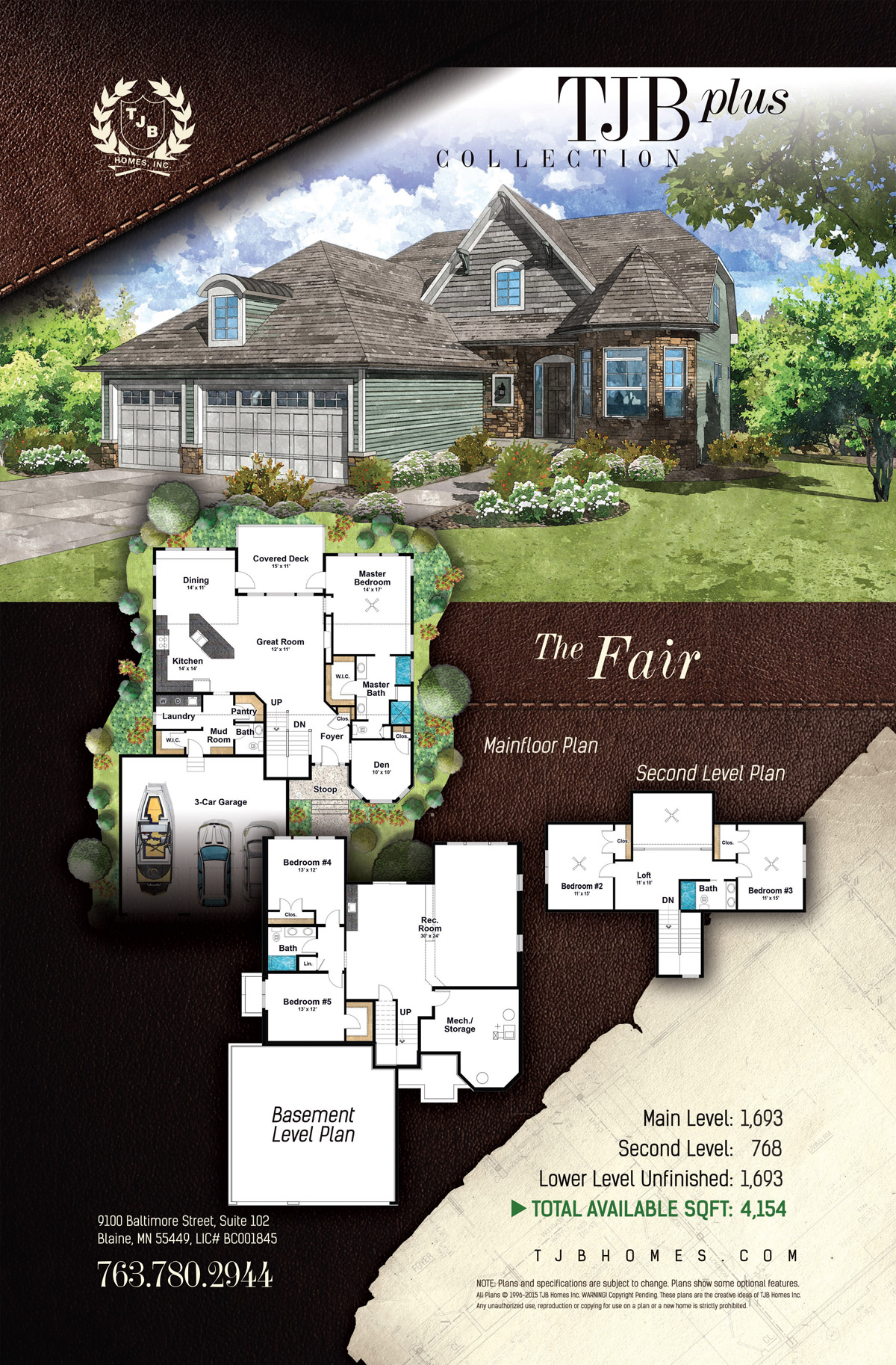 TJB Plus Collection Home Plans - The Fair
