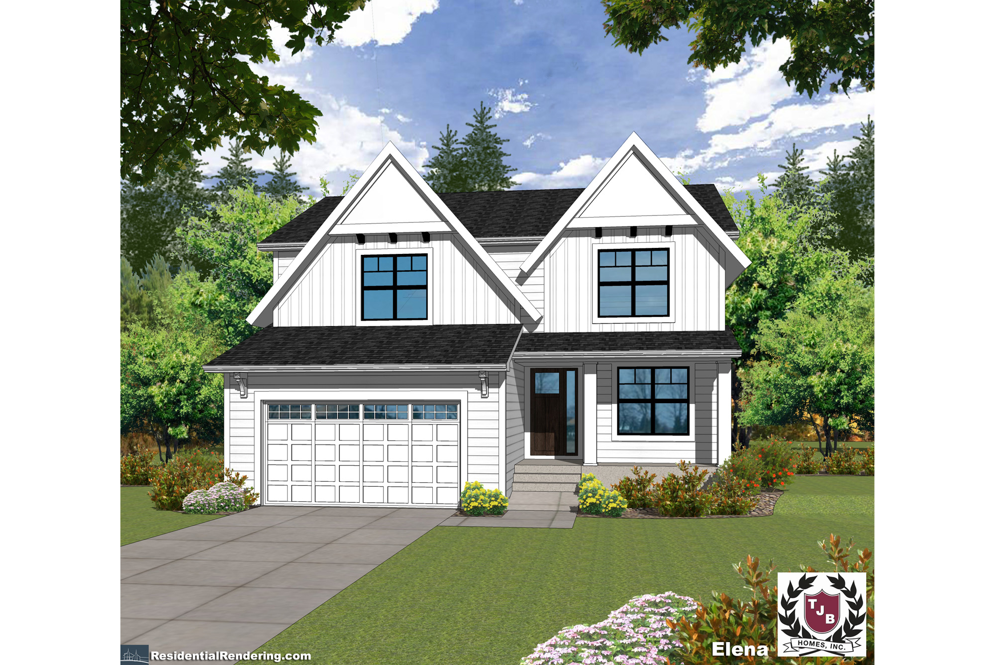 #218185 Elena Home Plan Front