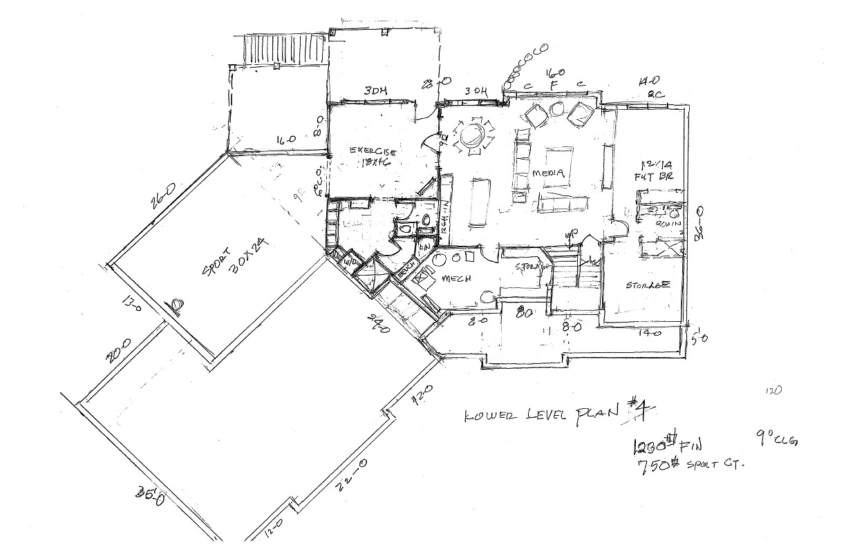 Lower Lever Floor Plan
