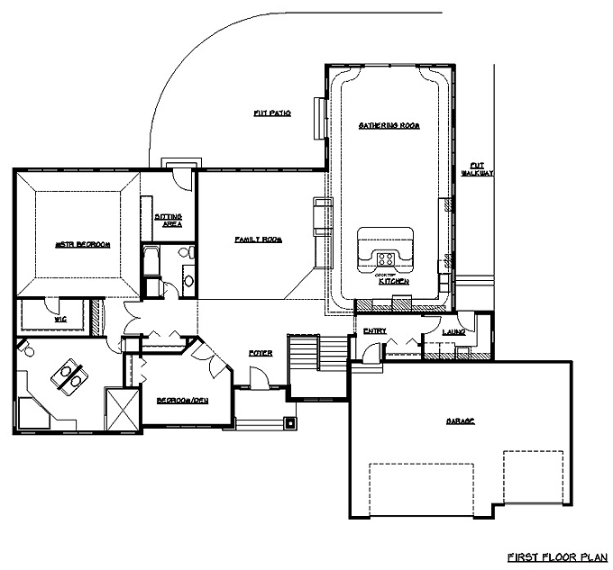 Rambler Floor Plans Plan 200225 TJB Homes