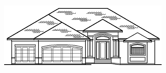 Plan #203131 Home Front