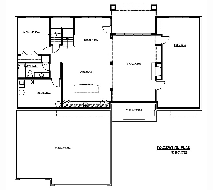 Rambler Floor Plans Rambler House Plans With Basements