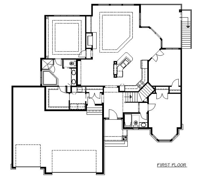 Rambler floor plans plan 204153 tjb homes for Rambler floor plans mn
