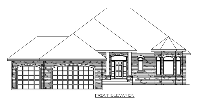 Plan #204217 Home Front
