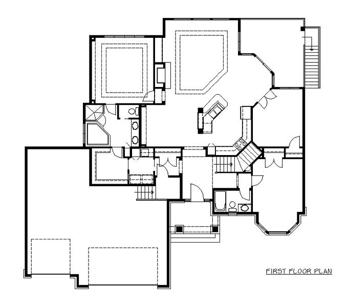 Rambler floor plans plan 204217 tjb homes for Rambler floor plans mn