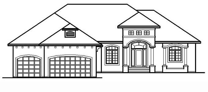 Plan #204544 Home Front