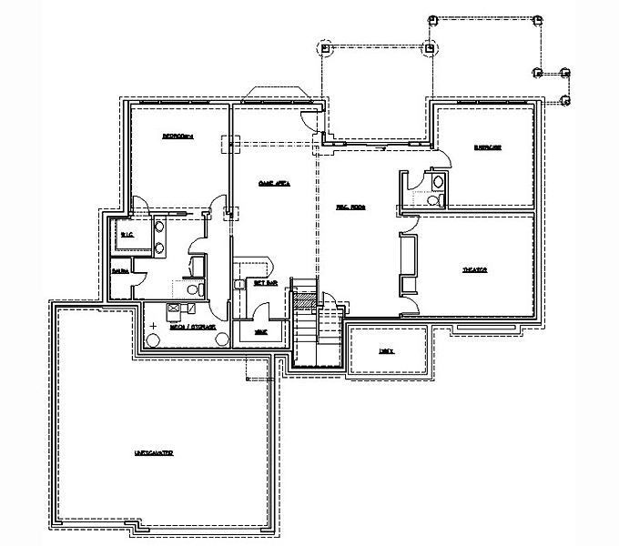Rambler House Plans 1 Period Style Homes Plan Sales The