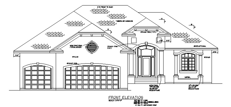 Plan #205108 Home Front