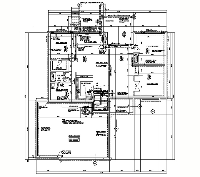 Rambler Floor Plans Plan 205108 Tjb Homes