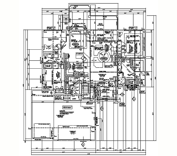 Rambler floor plans plan 205108 tjb homes for Rambler floor plans mn