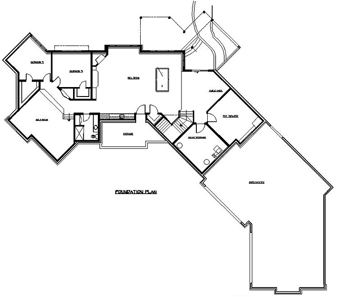 Ranch House Plans At Dream Home Source Ranch Style Home