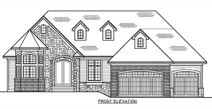 Plan #205314 Home Front