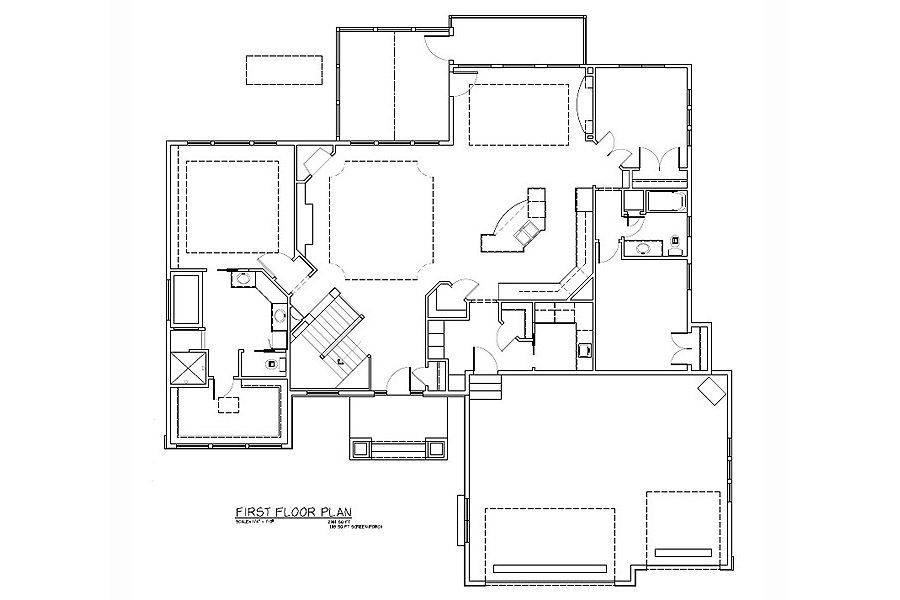Plan #207185 Main Level