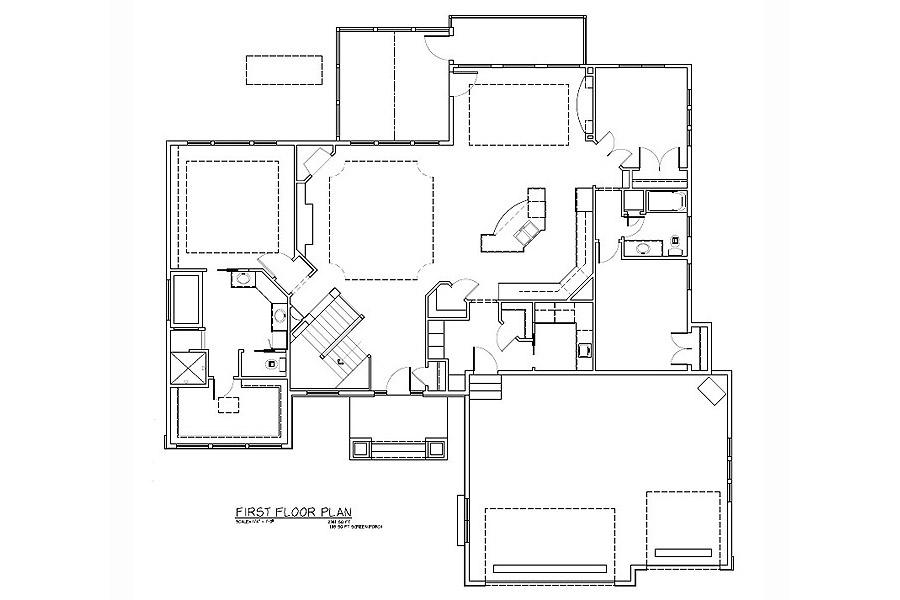 Rambler floor plans 207185 tjb homes for Rambler floor plans