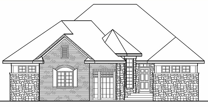 208151 Home Plan Front