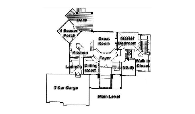 Rambler floor plans plan 950391 tjb homes for Rambler floor plans mn