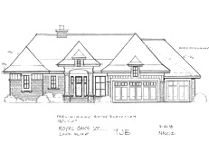 Rambler Home Plan Royal Oaks #TBD