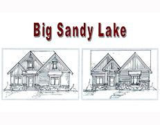 Big Sandy Lake Villa Home Plan