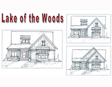 Lake of the Woods Villa Home Plan