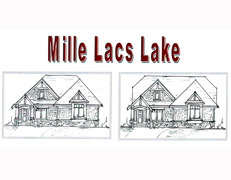 Mille Lacs Lake Villa Home Plan