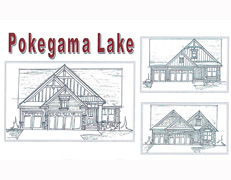 Pokegama Lake Villa Home Plan