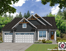 Lake Harriet Villa Home Plan