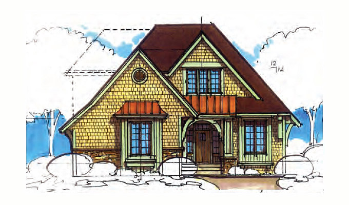 Cumber Well Park Home Plan Front Option A