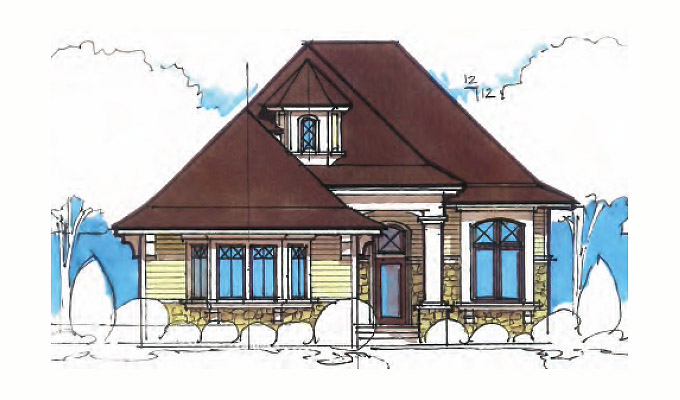 Cumber Well Park Home Plan Front Option B