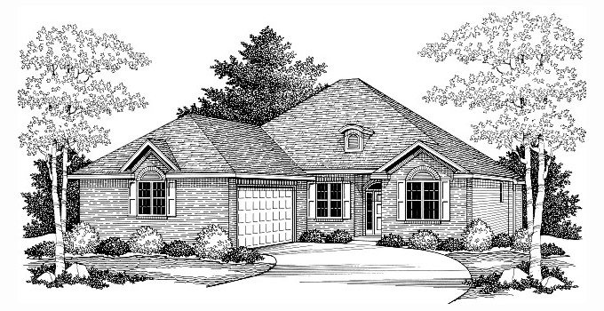 Glochester 202221-2 Home Plan Front